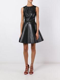 Uncover designer cocktail dresses at Farfetch. Jumpsuit Dress, Dress Up, Real Leather, Black Leather, Designer Party Dresses, Second Skin, Dress Making, Ideias Fashion, Diy Keychain