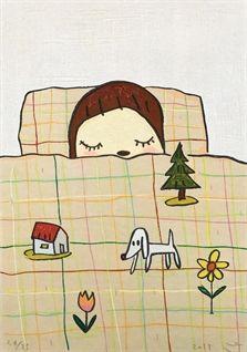 // Dream Time by Yoshitomo Nara.