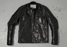 Aero Leathers Ultimate Cafe Racer Motorcycle Jacket •