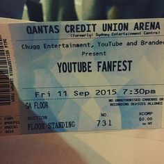 """I'm about to find out what a """"fanfest"""" is with @sophiepitkethley #fanfest #share #godmum #perksofthejob"""