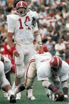 Richard Todd (14) Sylvester Croom (59) U of Alabama