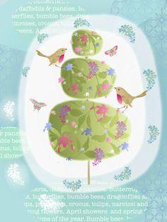 Nicola Rabbett - Spring Topiary, Butterflies & Birds.jpg