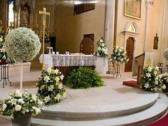 Decoración para la ceremonia de la boda