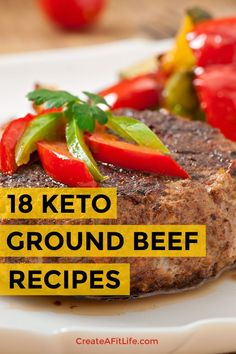 No low-carb diet plan is complete without a list of keto ground beef recipes. These easy keto ground beef recipes range from tradition to unique and tasty. Ground Beef Keto Recipes, Healthy Ground Beef, Healthy Beef Recipes, Beef Recipes For Dinner, Diet Recipes, Ground Beef And Spinach, Easy Dinner Ground Beef, Best Keto Meals, Easy Beef Stew
