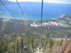 Take a day trip up the Gondola Heavenly South Tahoe