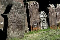 Old headstones at Westerkirk Parish Churchyard:: OS grid NY3190 :: Geograph Britain and Ireland - photograph every grid square!