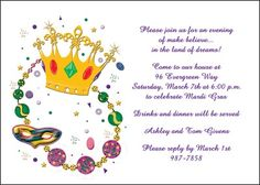 Find the most ideal jazz it up business mardi gras party invitations find the most ideal jazz it up business mardi gras party invitations at invitationsbyu such as invite number 7627ibu bh with lots of special prom stopboris Image collections