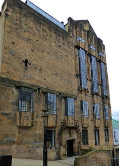 Glasgow, Scotland Glasgow School of Art (west) - before the devastating fire of Designed by Charles Rennie Mackintosh. Scotland Uk, Glasgow Scotland, Paisley Scotland, Highlands Scotland, Charles Rennie Mackintosh, The Second City, Glasgow School Of Art, Iceland Travel, Beautiful Places To Visit