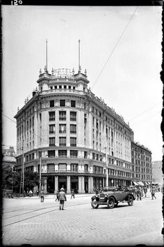Hotel Nacional. Atocha, 1920.