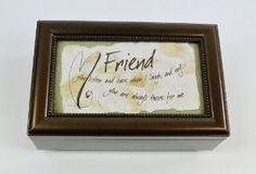 Forever Friends Music Box- Heartwarming Gift for Friends: Birthday gift