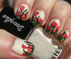 #Nail #nailart #DIYnail #DIY #fingernails #pretty #fashion