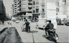 MURCIA - Plaza Martínez Tornel, con vista a la Gran Via. Años 60