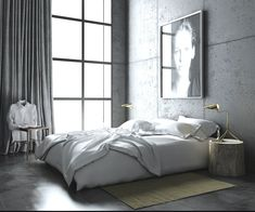 Concrete Walls   Barcelona Modern Loft Apartment