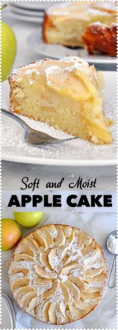 Soft, moist, and easy to make. You are going to love this simply delicious apple cake!