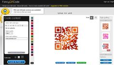 Fancy QR Code Generator     Also, If you are a Google Chrome user and you like FancyQRCode, install FancyQRCode as an application from the Chrome Web Store.