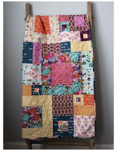 Patchwork Quilt Patterns, Batik Quilts, Scrappy Quilts, Crazy Patchwork, Bohemian Quilt, Bohemian Bedding, History Of Quilting, Colorful Quilts, Strip Quilts