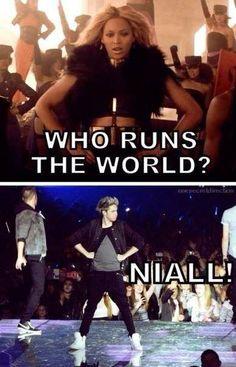 —Кто правит миром? —Найл! One Direction