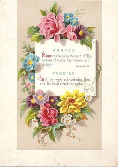 """Welcome to Sweet Magnolias Farm """"Free Printable"""" page. Feel free to save any of the printables on this page and use them to desig. Vintage Ephemera, Vintage Cards, Vintage Paper, Vintage Postcards, Sweet Magnolia, Magnolia Farms, Scripture Cards, Prayer Cards, Scripture Images"""