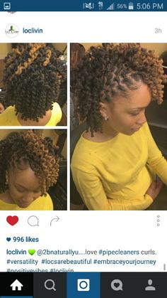 I can't wait to be able to do this with my locs