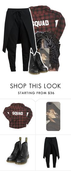 """Squad "" by jchristina ❤ liked on Polyvore featuring interior, interiors, interior design, home, home decor, interior decorating, Dr. Martens and Gareth Pugh"