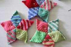 little woollie: Crochet Star Making - A Tutorial. ~Teresa Restegui~
