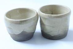Schüsseln & Schalen - Raku-Teeschale - zwei kleine Teeschalen im Set - ein Designerstück von Mikku-Keramik bei DaWanda