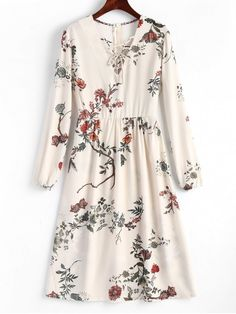 Up to 80% OFF! Floral Lace Up Midi Long Sleeve Dress. #Zaful #Dress Zaful,zaful dress,zaful outfits,black dress,dress,dresses,fashion,fall fashion,fall outfits,winter outfits,winter fashion,dress,long dress,maxi dress,long sleeve dress,flounced dress,vintage dress,casual dress,lace dress,boho dress,open back,dresses casual,flower dresses,maxi dresses,evening dresses,floral dresses,long dresses,party dresses,gift,Christmas,ugly Christmas,Thanksgiving,Cyber Monday @zaful Extra 10% OFF…