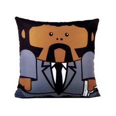 Sammy Jackson from Pulp Fiction: now in a lovable, hugable pillow format. :)