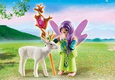 Fairy with Deer - 5370 - PLAYMOBIL® USA