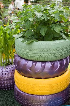 Great use for those old tires!