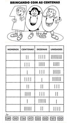 Exercícios de Matemática para o 3º ano – Atividades Jardim colorido para o Ensino Infantil