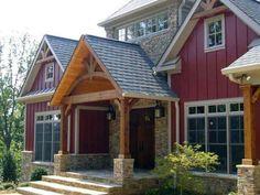 Top 50 Best Exterior House Paint Ideas - Color Designs New Modern House, Modern Minimalist House, Modern House Plans, Rustic Houses Exterior, Exterior Paint Colors For House, Paint Colors For Home, Exterior Colors, Dormer House, Fibreglass Roof