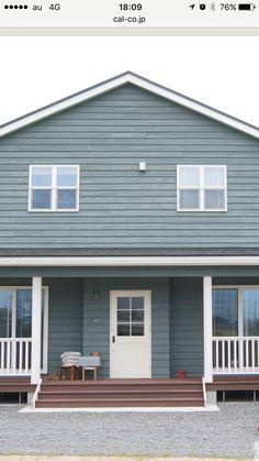 House Colors, Garage Doors, Colours, Outdoor Decor, Home Decor, Interior Design, Home Interiors, Decoration Home, Carriage Doors
