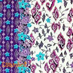 Batik Mega Mendung. A traditional pattern comes from Cirebon, West Java.