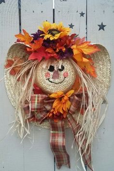 Celebrate Fall with these cheap and easy DIY Fall wreaths. Many of these wreaths can be made in under an hour with minimal supplies required and most of the materials needed can be found at Dollar Tree! What makes a lot of these wreaths budget-friendly is Easy Fall Wreaths, Diy Fall Wreath, Fall Diy, Wreath Ideas, Cheap Wreaths, Winter Wreaths, Spring Wreaths, Summer Wreath, Fall Crafts