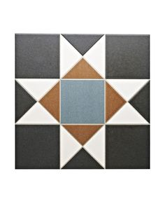 Grosvenor™ Black/Blue Tile