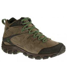 Las botas de montaña Serraton Mid de la marca Merrell han sido fabricadas en piel serraje combinado con tejido Waterproof para que sean resistentes al agua. http://www.shedmarks.es/calzado-hombre/3456-botas-merrell-serraton-mid-waterproof.html