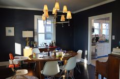 The Eagle's Nest: The Dining Room Chandelier