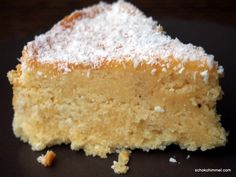 Kuchen mit Kokossirup