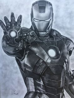 Ritratto originale a matita di Ironman, dimensione cm. ( artwork-portrait-original-print-draw) I am excited to share this article from my shop: Original Portrait in Pencil of Ironman, size Iron Man Kunst, Iron Man Art, Avengers Drawings, Avengers Art, Marvel Comics, Marvel Art, Ms Marvel, Marvel Memes, Captain Marvel