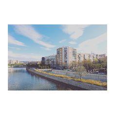 Madrid al manzanares (XIII) #Madrid #spain #madridrio #citylife #cityview #building #edificios #igs #igers #igdaily #igworld #igersspain #igersmadrid #fullframe #canon6D #ef24mm #manzanares #river #rio
