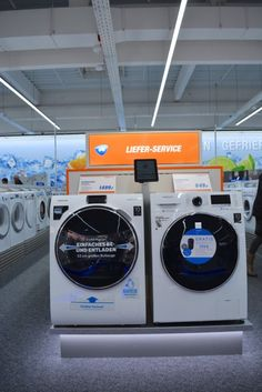 Elektronikfachmärkte am POS Pos, Stores, Architecture, Washing Machine, Home Appliances, Electronics, Design, Arquitetura, House Appliances