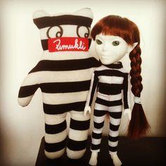 © 2012 Pumukli by Tatiana Goldmannova Your Design, Ronald Mcdonald, Dolls, Prints, Fictional Characters, Art, Baby Dolls, Art Background, Doll
