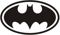 Resultado de imagem para simbolo do batman para imprimir