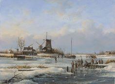 Peter Sterkenburg - Winterlandschap