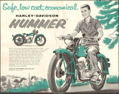 Harley Davidson - now that's a better role for them.....