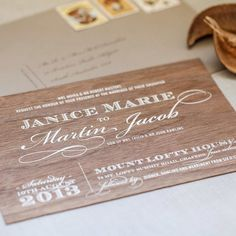 We can create print on almost anything! (just like these invitations printed on wood tiles)  To make your wedding something truly unique talk to #akimbopaper we are the specialists in quality wedding printing.  photography by @jennifersando    #sheaidyes #printing #engaged #wedding #bride #thebigday #details #beautiful #adelaide #melbourne #brisbane #sydney #specialday #family #groom #married #gettingmarried #stationery #gifttags #invitations #bespoke #design #personalised #weddingday…