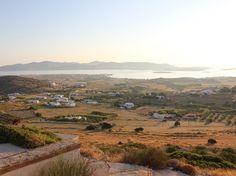 Paros  Arid rolling farmlands on the island of Paros.