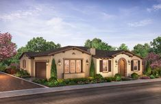 Citron at The Grove in Camarillo, CA by Shea Homes | Residence 2C Exterior Rendering   #sheahomes #sheahomessocal #livethedifference #liveethesheadifference #CitronAtTheGrove #Camarillo #newhomes #venturanewhomes #venturacounty #realestate Sales: Shea Homes Marketing Company (CalDRE #01378646), Construction: SHSC GC, Inc. (CSLB #1012096). Equal Housing Opportunity.