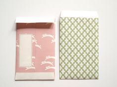 Japanese vintage pattern envelopes